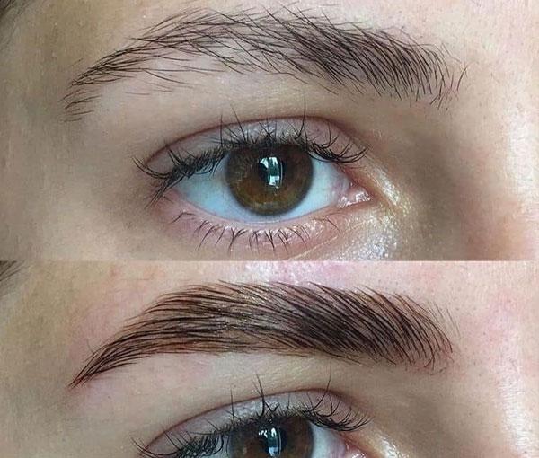 Eyebrow Lamination 7