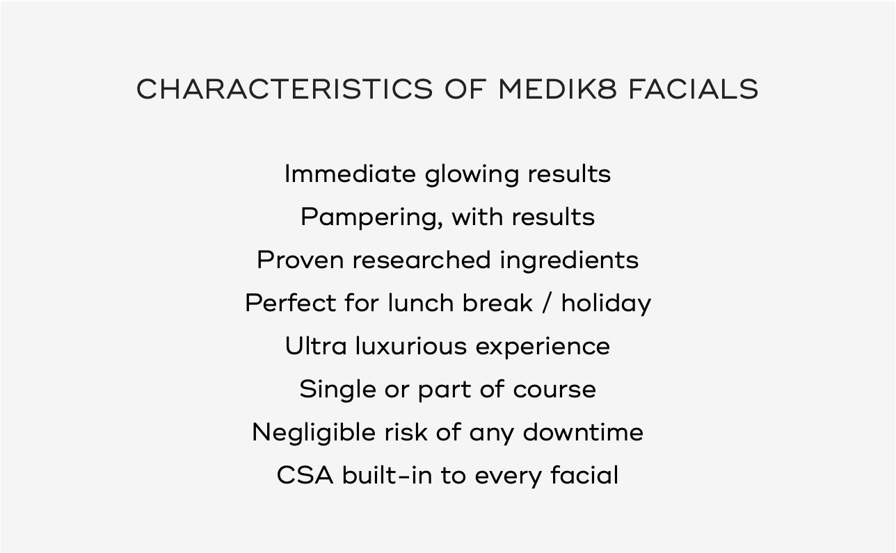 Medik8 Facials & Peels 10